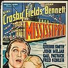 Joan Bennett, Bing Crosby, and W.C. Fields in Mississippi (1935)
