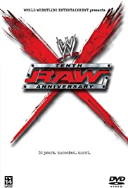 WWE: Raw Tenth Anniversary Poster