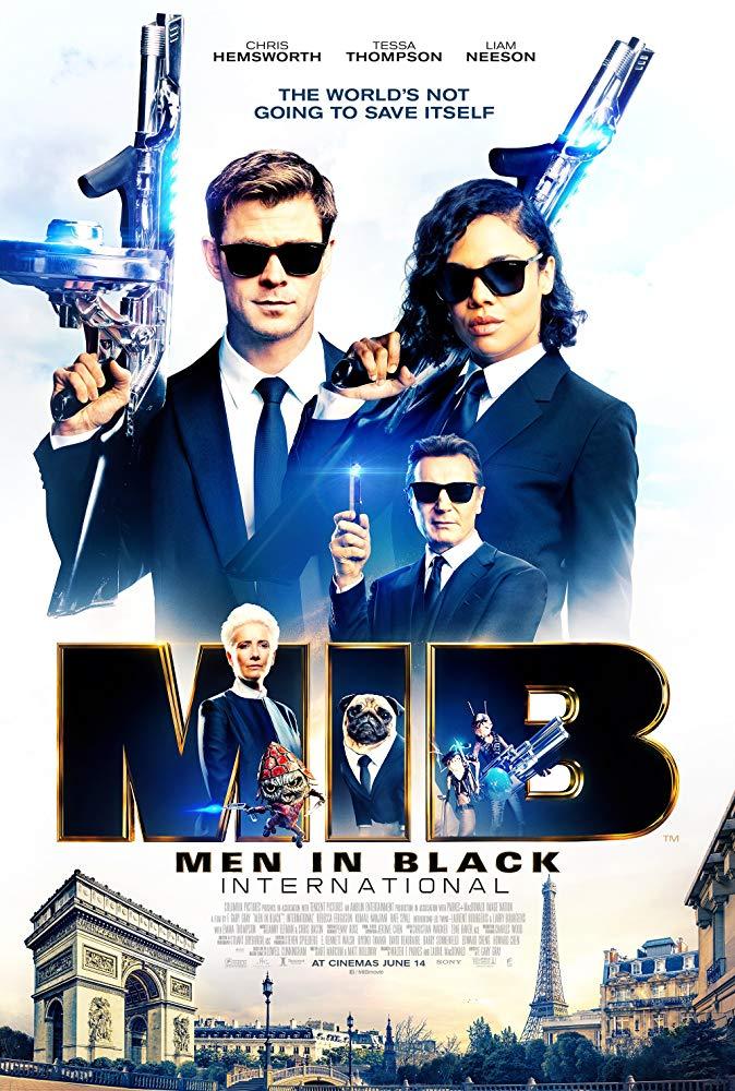 Poster film Men In Black International.