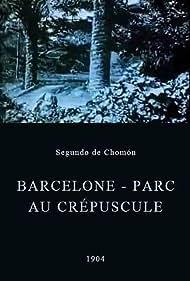 Barcelone - Parc au crépuscule (1904)
