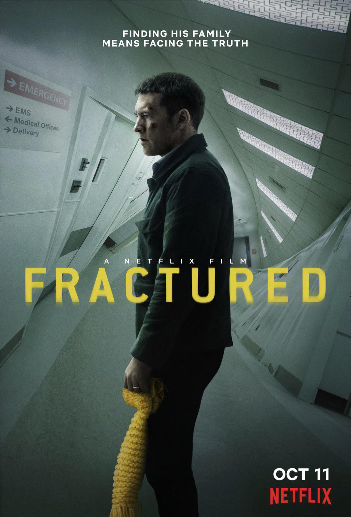 Fractured (2019) Hindi Dual Audio 480p HDRip x264 450MB