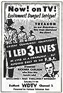 I Led 3 Lives (1953) Poster