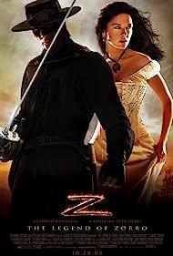 Antonio Banderas, Catherine Zeta-Jones, Mary Crosby, Giovanna Zacarías, Mar Carrera, and Alexandra Benedetti in The Legend of Zorro (2005)