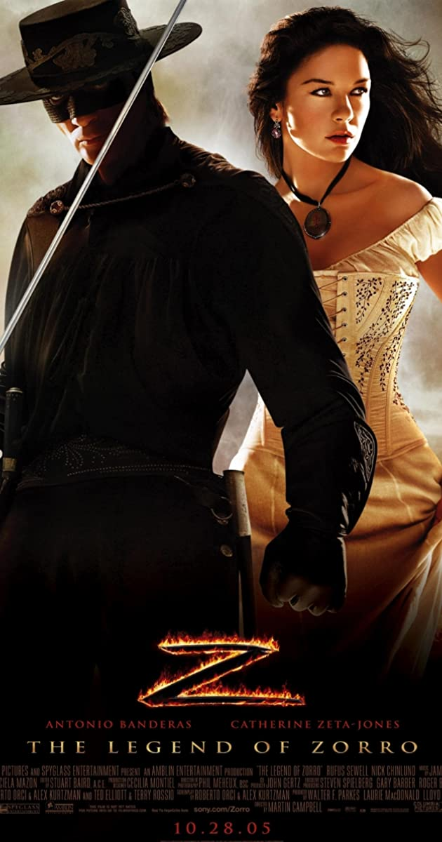 Play or Watch Movies for free The Legend of Zorro (2005)