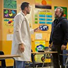 Tyler Labine and Ryan Eggold in New Amsterdam (2018)