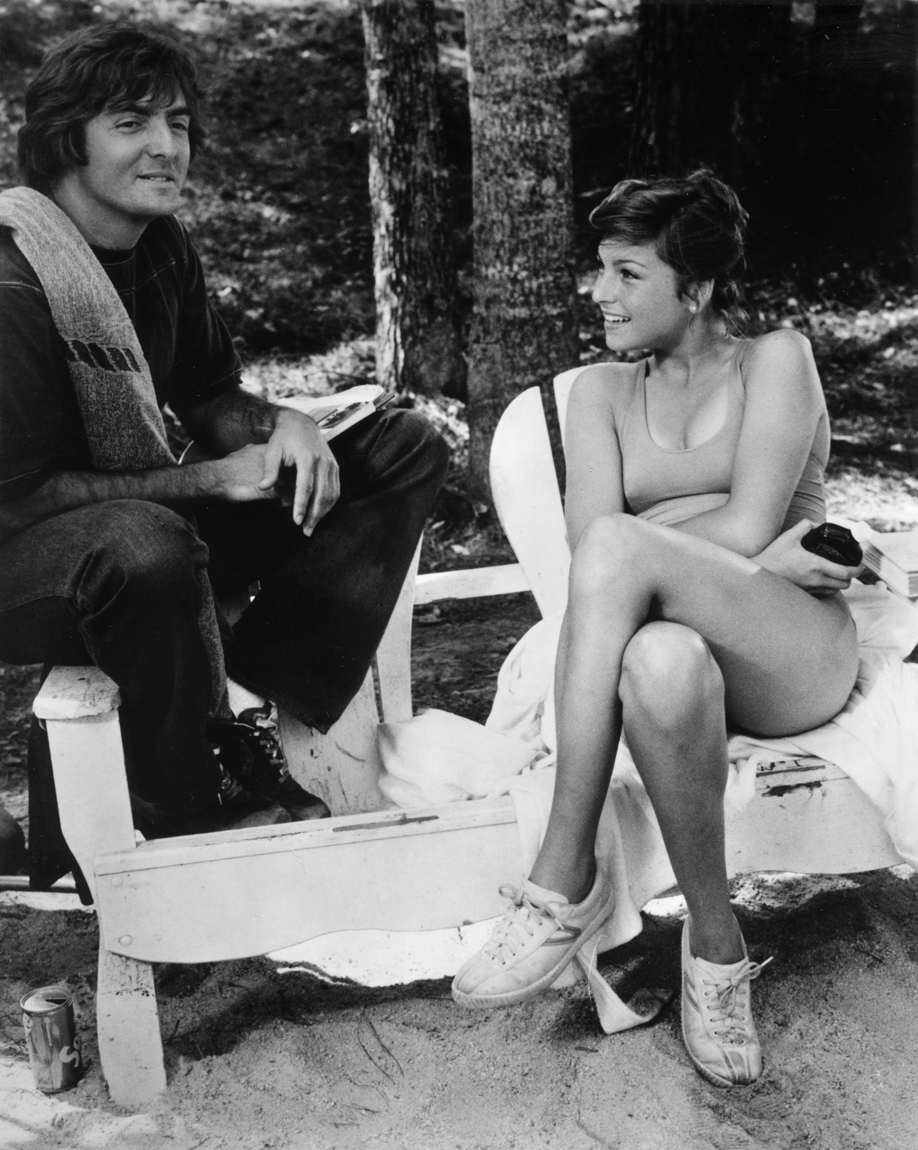 Armand Assante and Tatum O'Neal in Little Darlings (1980)