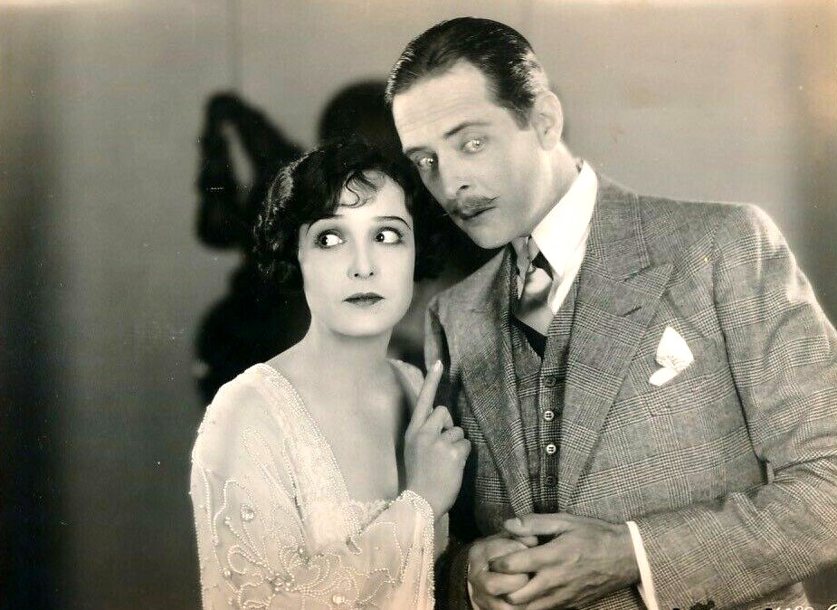 William Austin and Florence Vidor in Honeymoon Hate (1927)