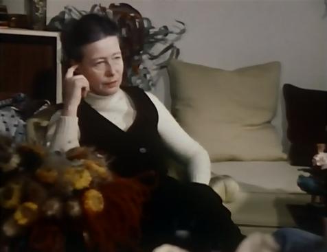Simone de Beauvoir in Format 60 (1969)