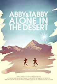 Abby and Tabby Alone in the Desert Poster