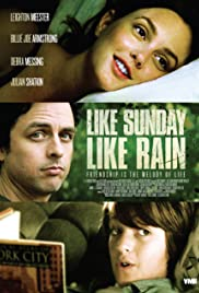 Like Sunday, Like Rain Poster