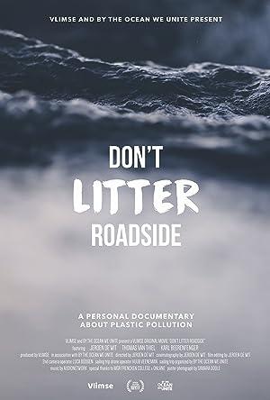 Don't Litter Roadside