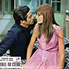 Sami Frey and Françoise Hardy in Une balle au coeur (1966)