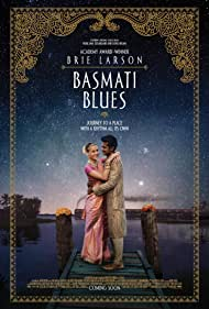 Brie Larson and Utkarsh Ambudkar in Basmati Blues (2017)