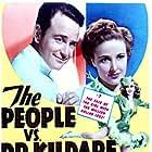 Lew Ayres, Laraine Day, and Bonita Granville in The People vs. Dr. Kildare (1941)
