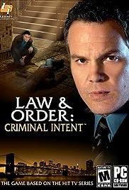 Law & Order: Criminal Intent Poster