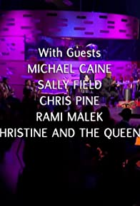Primary photo for Michael Caine/Sally Field/Chris Pine/Rami Malek/Christine and the Queens