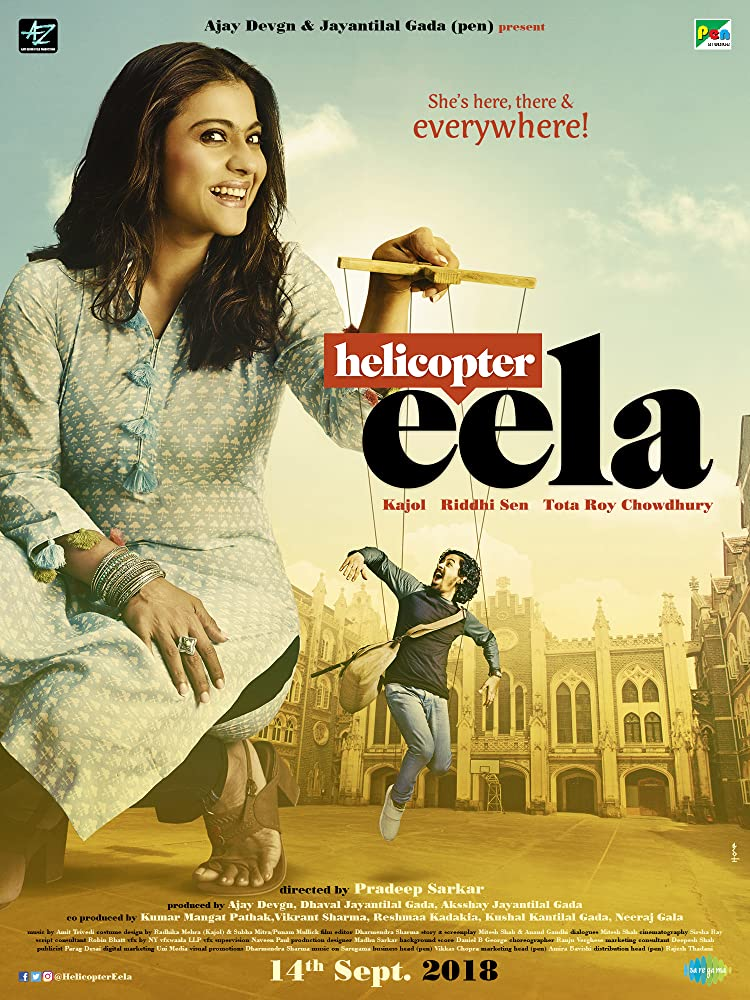 Helicopter Eela (2018) Hindi 350MB Pre-DVDRip 480p x264