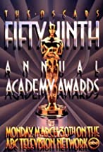 Primary image for The 59th Annual Academy Awards