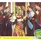 Mickey Rooney, Rene Austin, Fay Bainter, Tom Hanlon, Payne B. Johnson, and Alexander Woollcott in Babes on Broadway (1941)