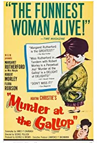 Murder at the Gallop (1963) Poster - Movie Forum, Cast, Reviews