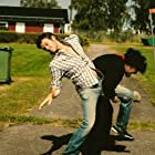 Johannes Söderqvist and Tommy Baso Nordin in Hermit: Monster Killer (2016)