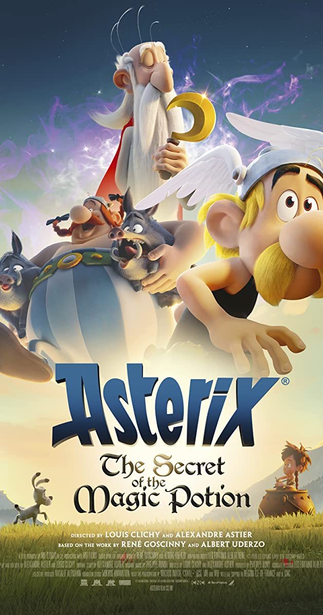 Subtitle of Asterix: The Secret of the Magic Potion