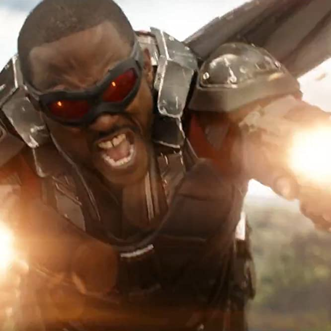 Anthony Mackie in Avengers: Infinity War (2018)