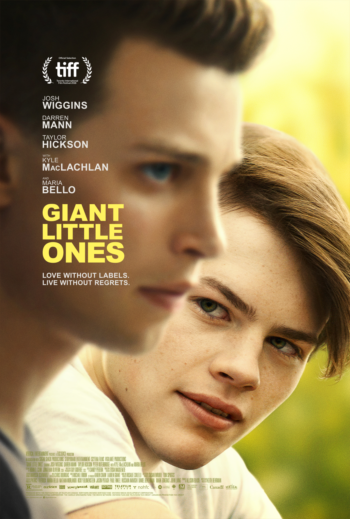 Giant Little Ones (2018) - IMDb