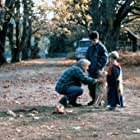 Mimi Rogers, Bruce Davison, Jesse Bradford, Joel Palmer, and Dakotah in Far from Home: The Adventures of Yellow Dog (1995)