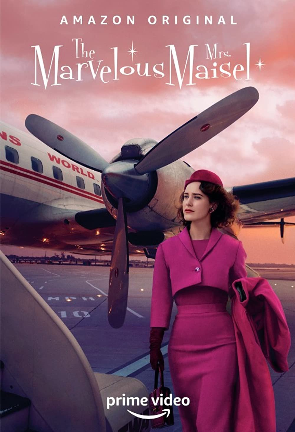The Marvelous Mrs. Maisel: Created by Amy Sherman-Palladino. With Rachel Brosnahan, Alex Borstein, Michael Zegen, Marin Hinkle. A housewife in 1958 decides to become a stand-up comic.