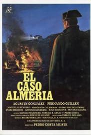 El caso Almería Poster