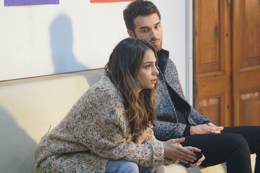 Yusuf Çim and Bahar Sahin in Servet (2018)