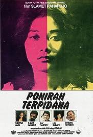 Ponirah terpidana Poster