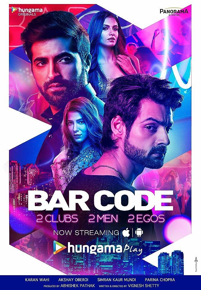 Akshay Oberoi, Simran Kaur Mundi, Karan Wahi, and Parina Chopra in Bar Code (2018)
