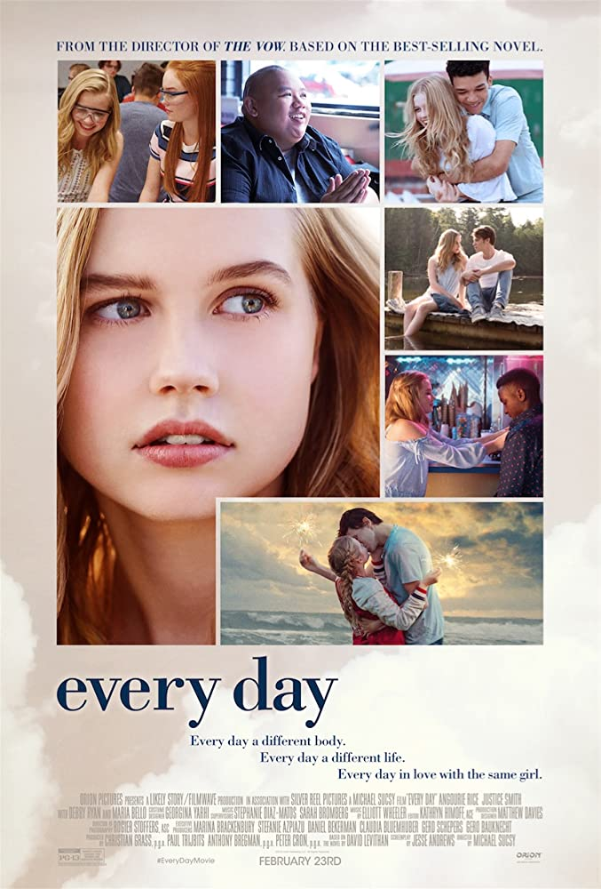 Colin Ford, Angourie Rice, Owen Teague, Jeni Ross, Justice Smith, Sean Jones, and Jacob Batalon in Every Day (2018)