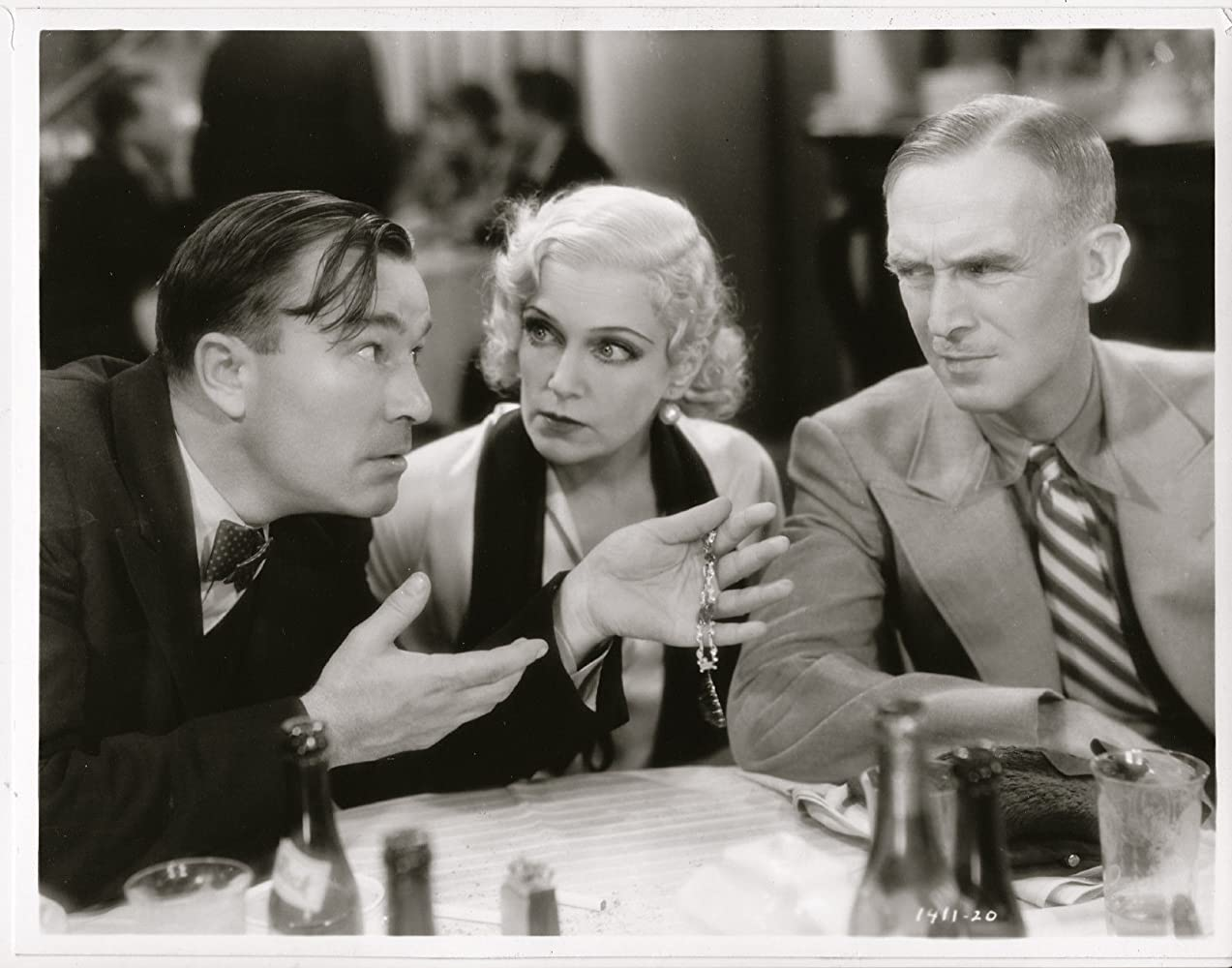 Robert Armstrong, Olga Baclanova, and James Gleason in The Billion Dollar Scandal (1933)