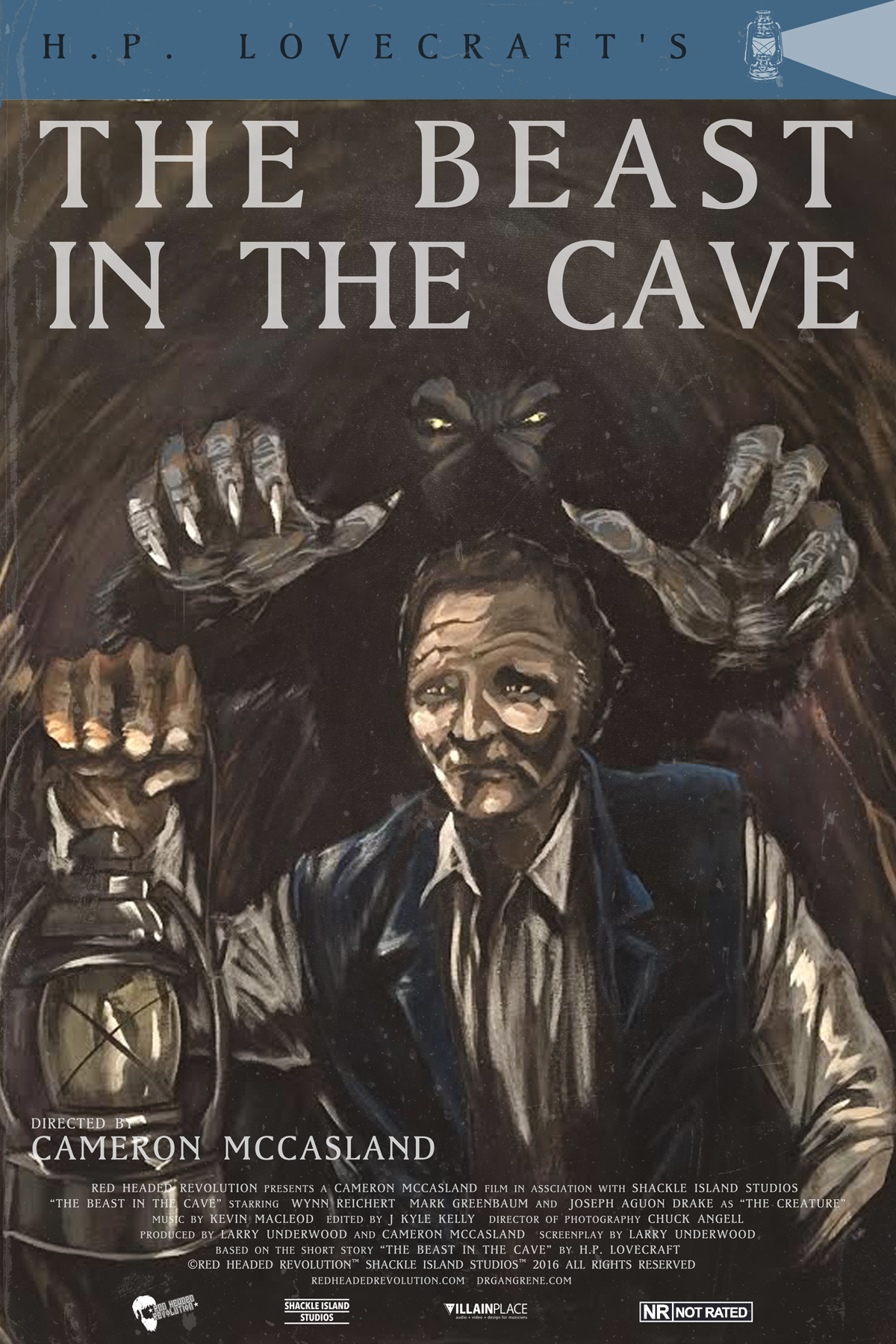 H P  Lovecraft's the Beast in the Cave (2016) - IMDb