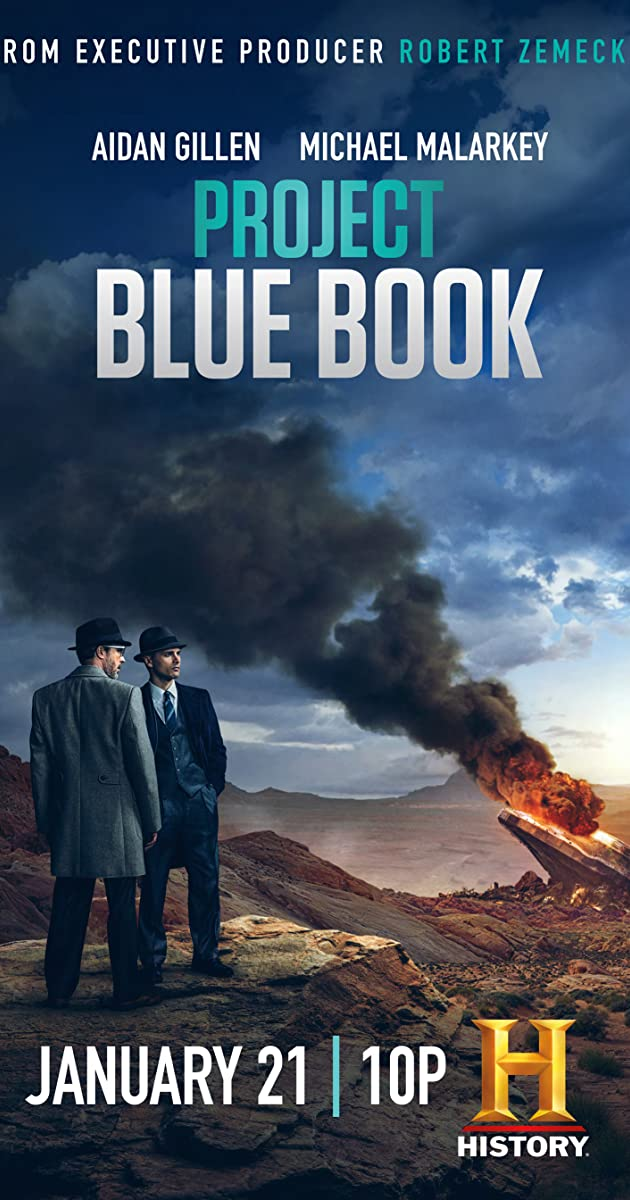 Download Project Blue Book or watch streaming online complete episodes of  Season 2 in HD 720p 1080p using torrent