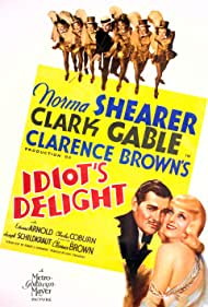 Clark Gable and Norma Shearer in Idiot's Delight (1939)