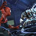 Josh Keaton and Steve Blum in Spider-Man: Edge of Time (2011)