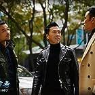Kang Yu, Simon Yam, and Donnie Yen in Bing feng: Yong heng zhi men (2018)