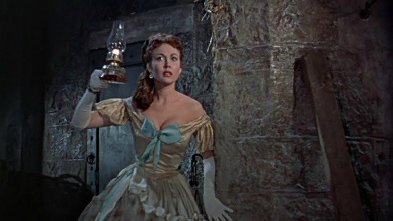 Hazel Court in The Curse of Frankenstein (1957)