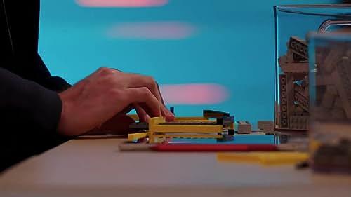 Lego Masters: Tyler & Amy Struggle With Their Bridge