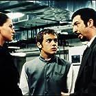 Leticia Brédice, Ricardo Darín, and Tomás Fonzi in Nueve reinas (2000)