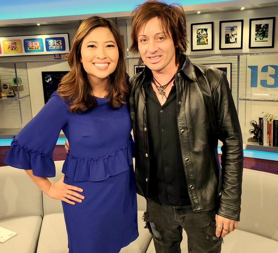 CBS Morning show with Linh Bui WJZTv
