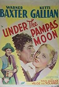 Warner Baxter and Ketti Gallian in Under the Pampas Moon (1935)