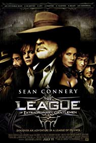 Sean Connery, Jason Flemyng, Tony Curran, Naseeruddin Shah, Stuart Townsend, Shane West, and Peta Wilson in The League of Extraordinary Gentlemen (2003)