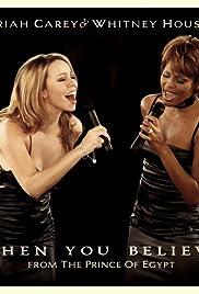 Whitney Houston & Mariah Carey: When You Believe Poster