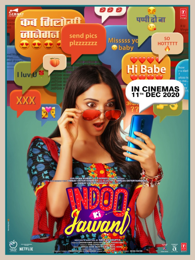 Indoo Ki Jawani (2020) Hindi Movie Official Trailer Kiara Advani, Aditya Seal 1080p HDRip