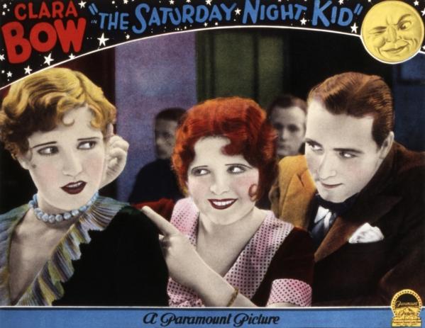 Jean Arthur, Clara Bow, and James Hall in The Saturday Night Kid (1929)
